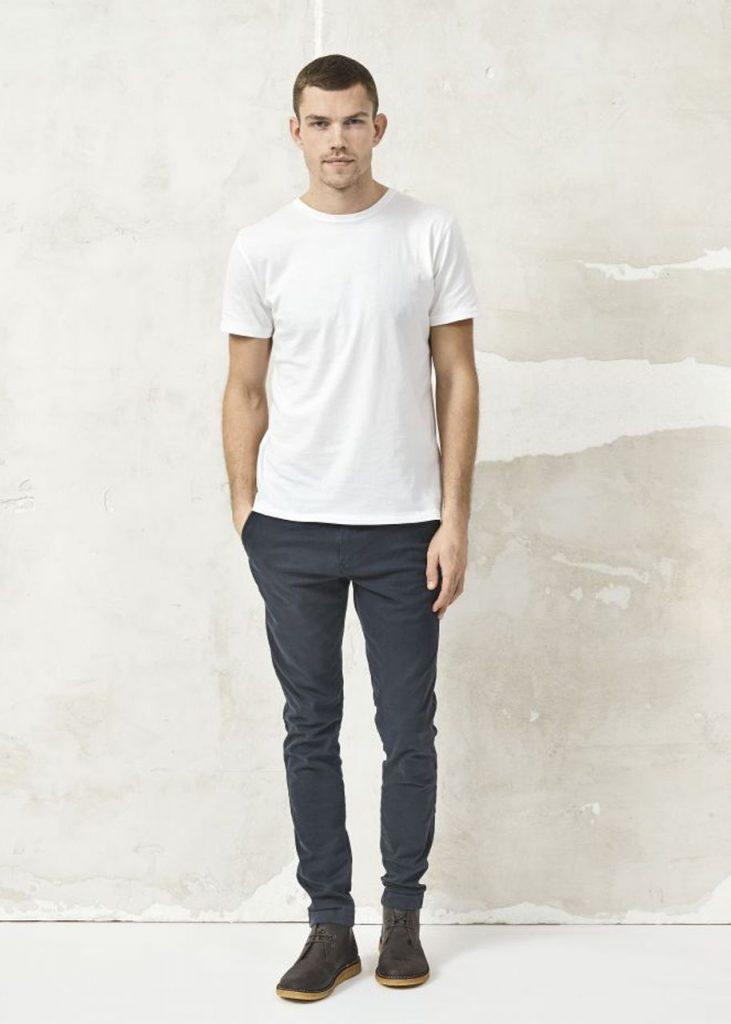 nachhaltige Herren Modelabels, bio tshirt, knowledge cotton apparel